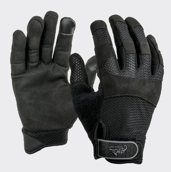 URBAN TACTICAL LINE® VENT Gloves Handschuhe Black RK-UTV-PU-01.
