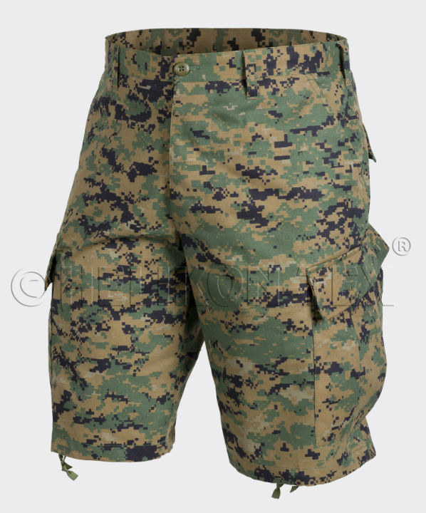HELIKON ACU Shorts Polycotton Twill USMC Digital Woodland kurz Hose SP-ACK-PT-07
