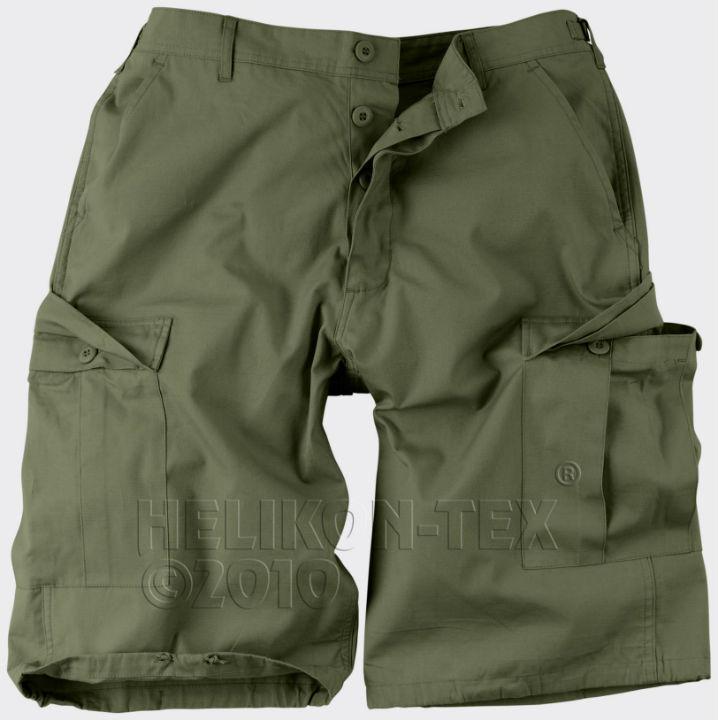 HELIKON BDU Shorts Cotton Ripstop Olive Green Hose kurz SP-BDK-CR-02.