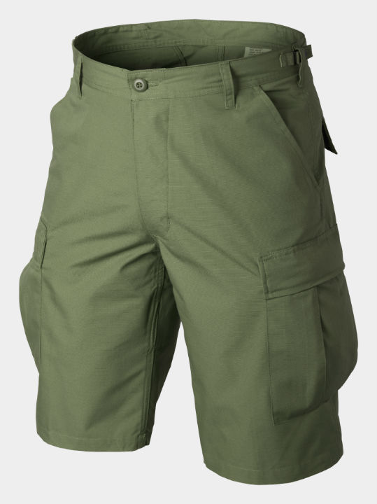 HELIKON BDU Shorts Cotton Ripstop Olive Green Hose kurz SP-BDK-CR-02.