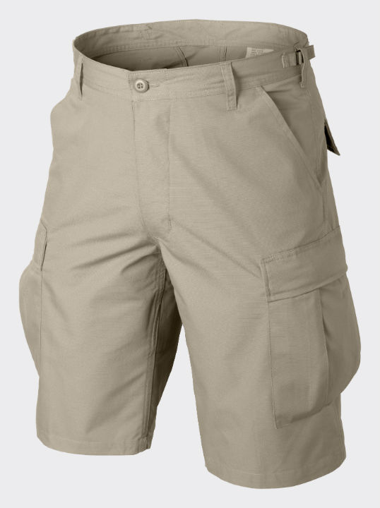 HELIKON-TEX BDU Shorts Cotton Ripstop Khaki Hose kurz Shorts SP-BDK-CR-13.
