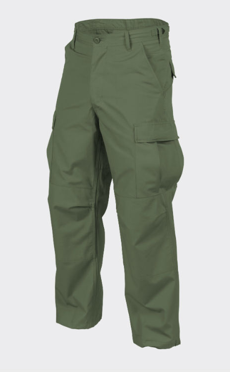 HELIKON-TEX BDU Hose Trousers Cotton Ripstop Olive Green Oliv Grün SP-BDU-CR-02