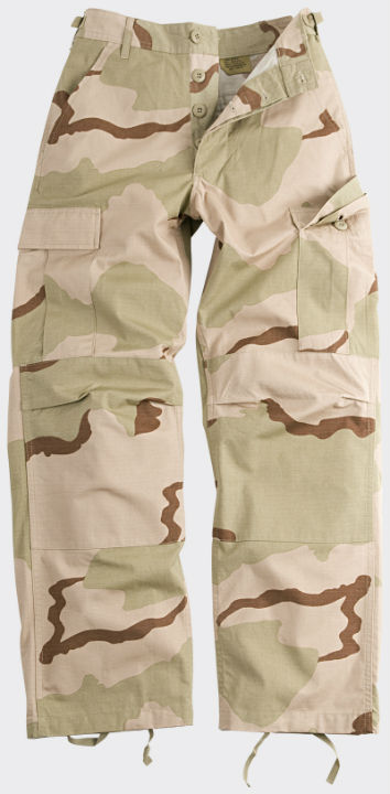 HELIKON-TEX BDU Trousers Cotton Ripstop US Desert Hose Pants SP-BDU-CR-05.