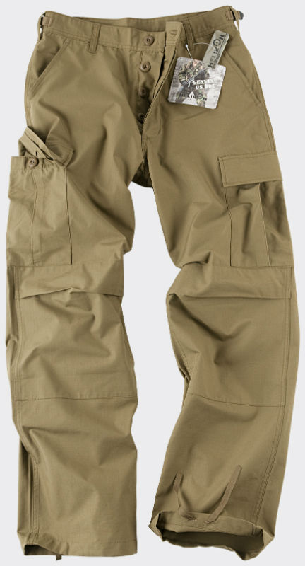 HELIKON-TEX BDU Trousers Hose PolyCotton Ripstop Coyote SP-BDU-PR-11