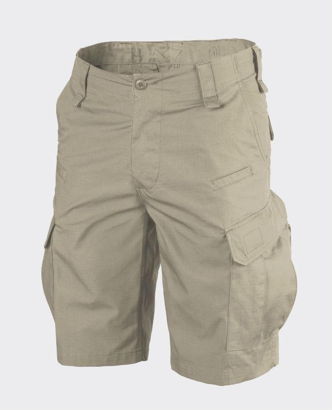Helikon C P U Shorts kurz Hose Cotton Ripstop Khaki SP-CPK-CR-13.