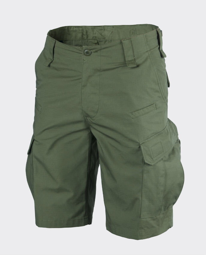 Helikon C P U Shorts kurz Hose PolyCotton Ripstop Olive Green SP-CPK-PR-02.