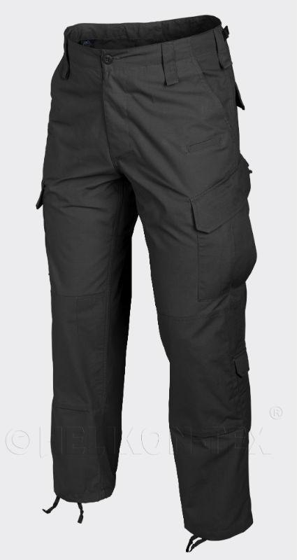 HELIKON-TEX Hose Trousers PolyCotton Ripstop Black Schwarz Helikon SP-CPU-PR-01.