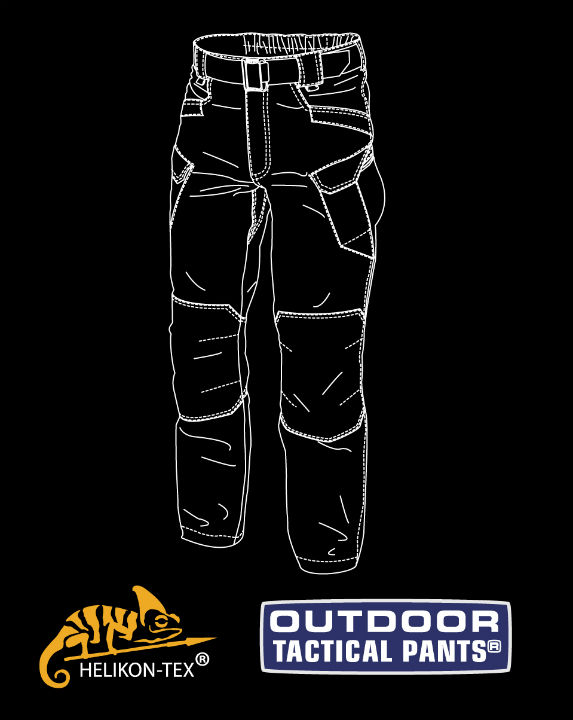 Helikon-Tex OUTDOOR TACTICAL PANTS Hose Nylon Shadow Grey SP-OTP-NL-35.
