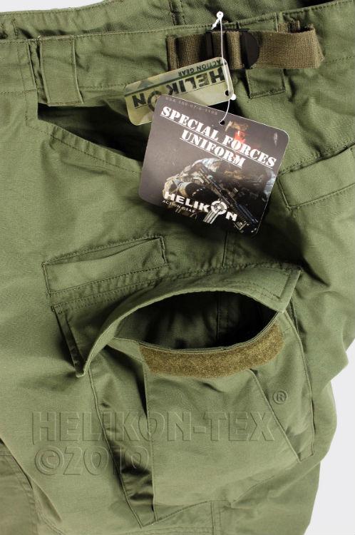 HELIKON-TEX SFU Trousers SP-SFU-PR-02 PolyCotton Ripstop Olive Green Pants Hose.