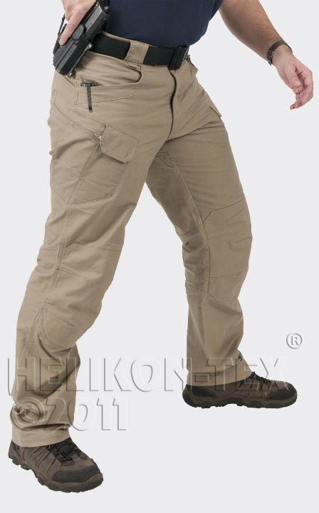 HELIKON-TEX Helikon UTP SP-UTL-CO-13 URBAN TACTICAL PANTS Canvas Khaki Hose.