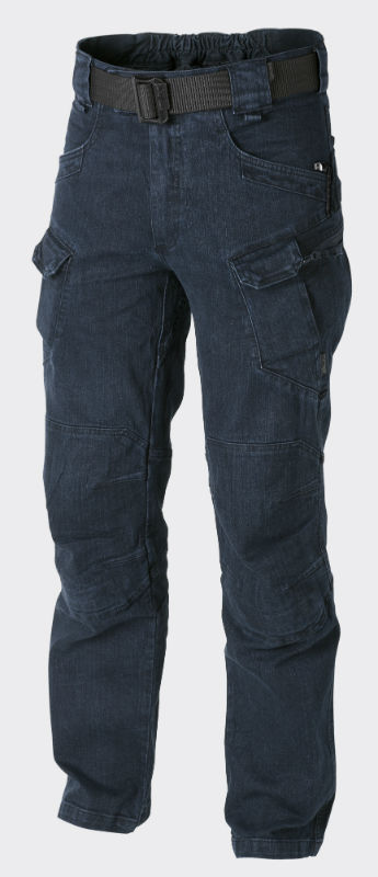 Helikon URBAN TACTICAL PANTS® Denim Blue UTL Hose Trousers Jeans SP-UTL-DM-31.