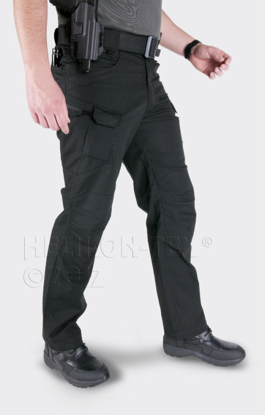 Helikon URBAN TACTICAL PANTS PolyCotton Canvas Schwarz SP-UTL-PC-01.