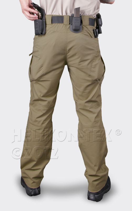HELIKON URBAN TACTICAL PANTS PolyCotton Ripstop Coyote Hose Pants SP-UTL-PR-11.