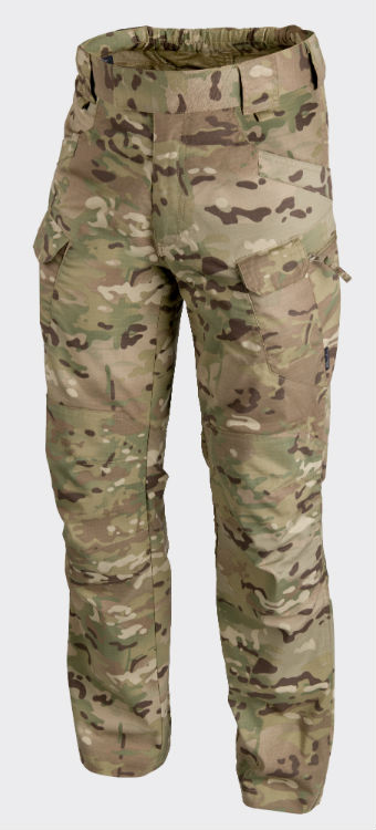 HELIKON URBAN TACTICAL PANTS PolyCotton Ripstop CAMOGROM Hose Pants SP-UTL-PR-14
