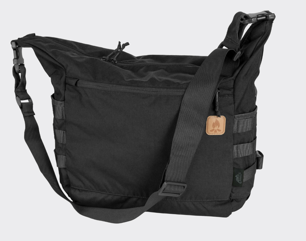 Helikon BUSHCRAFT SATCHEL Bag Cordura Umhängetasche Outdoor Tasche Black.