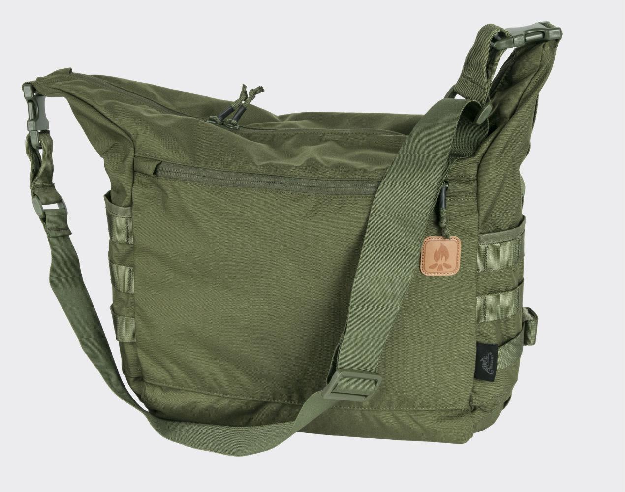 Helikon BUSHCRAFT SATCHEL Bag Cordura Umhängetasche Outdoor Tasche Oliv Green.