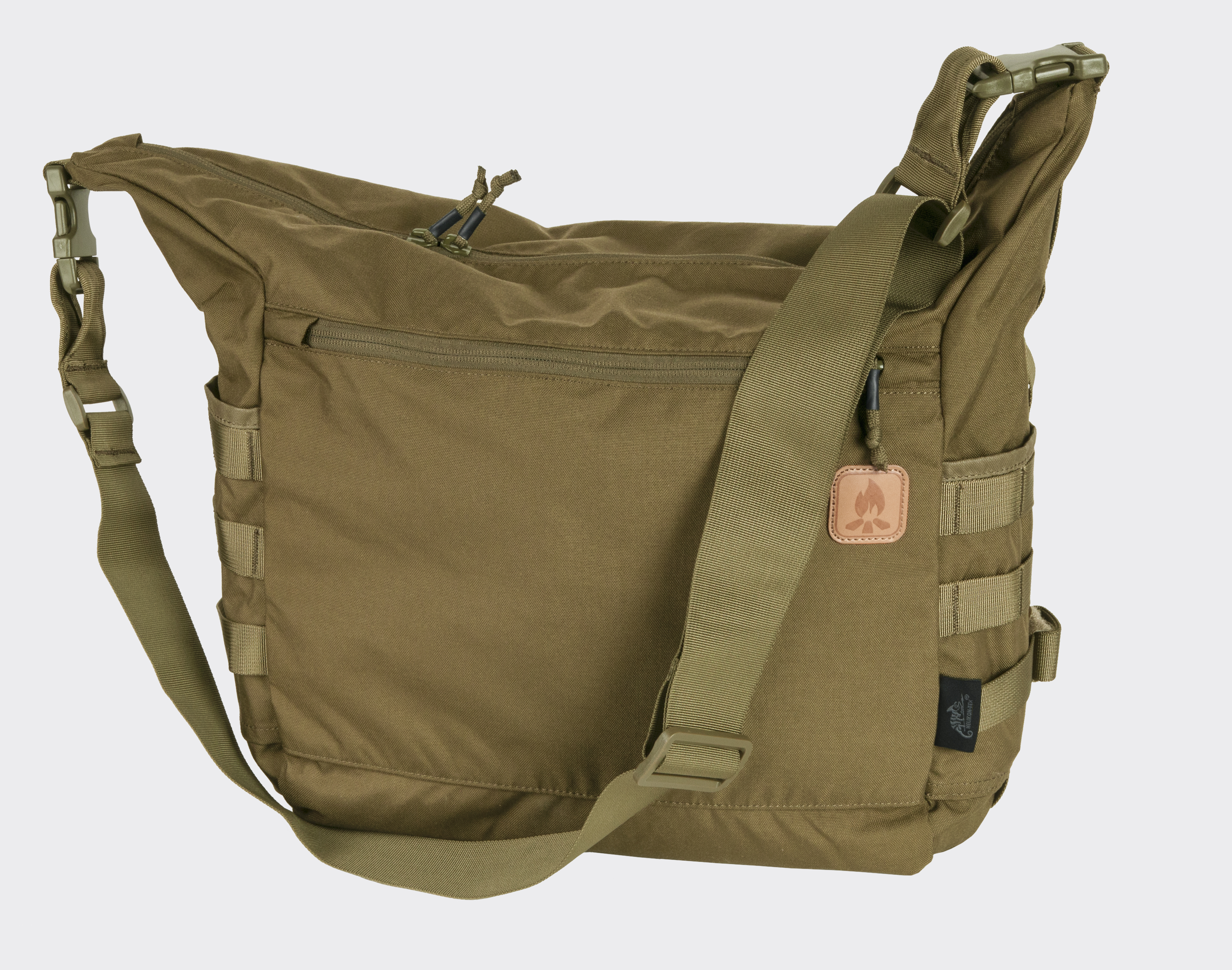 Helikon BUSHCRAFT SATCHEL Bag Cordura Umhängetasche Outdoor Tasche Coyote.