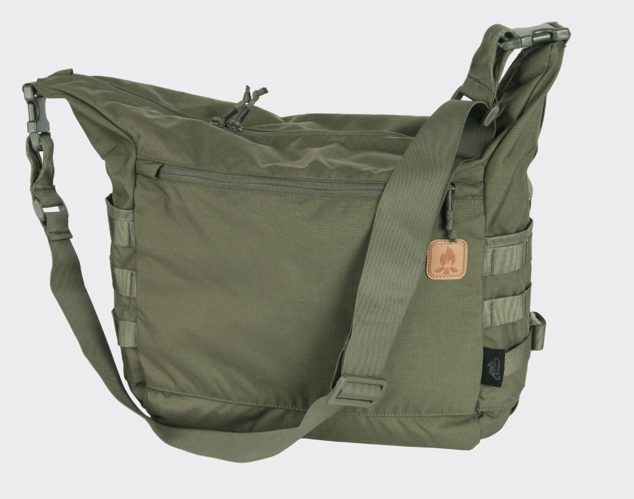 Helikon BUSHCRAFT SATCHEL Bag Umhängetasche Outdoor Adaptive Green.