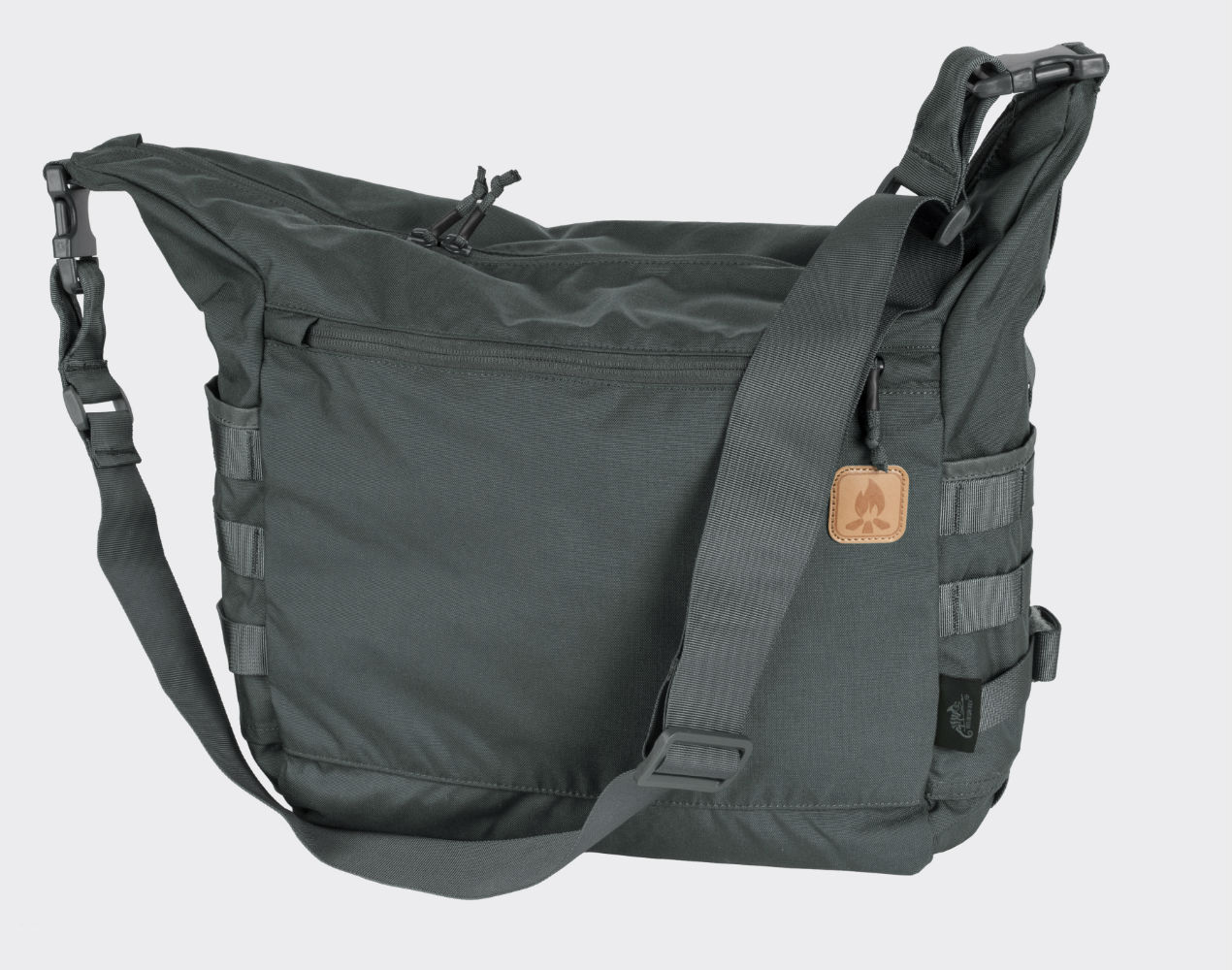 Helikon BUSHCRAFT SATCHEL Bag Umhängetasche Outdoor Tasche Shadow Grey