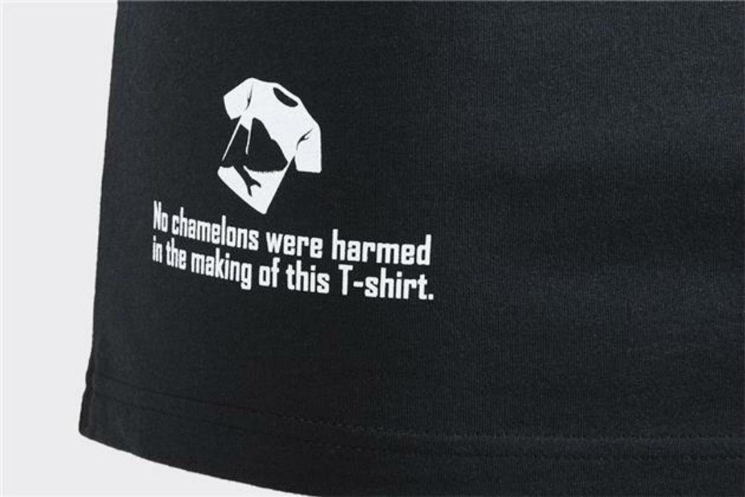 Helikon-Tex T-Shirt Cotton (Thorax and Chameleon) Shirt BLACK TS-CIT-CO-01.