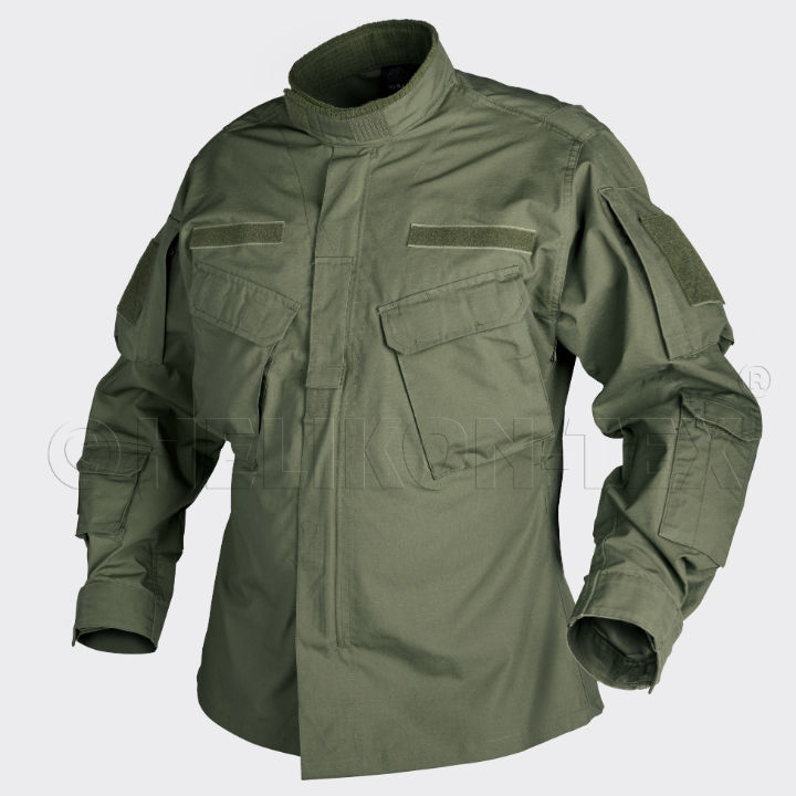 HELIKON-TEX C P U Jacket Jacke PolyCotton Ripstop Olive Green BL-CPU-PR-02 OLIV.