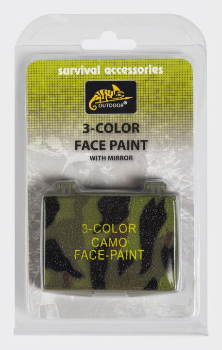 Helikon 3-Color Face Paint Gesichtsfarben FM-3CO-KR-03.