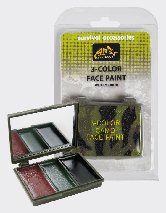 Helikon 3-Color Face Paint Gesichtsfarben FM-3CO-KR-03.