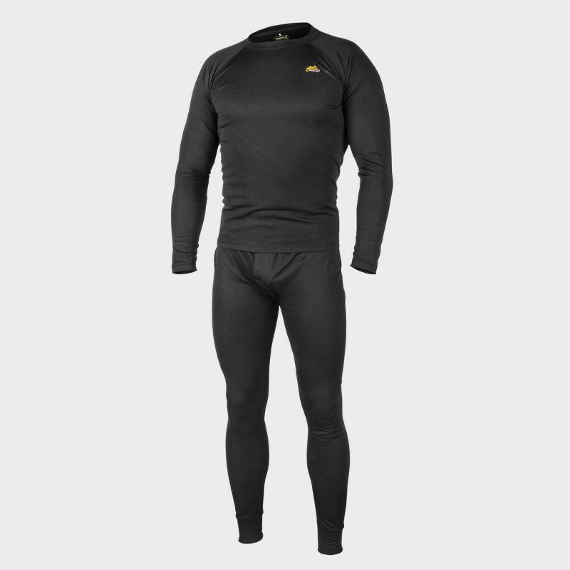 HELIKON-TEX Underwear (full set) US Black Schwarz Level 1 Gen III KP-UN1-PO-01.