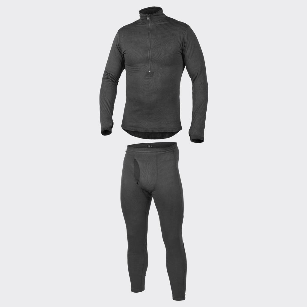 HELIKON-TEX Underwear (full set) US LVL 2 Black KP-UN2-PO-01 Helikon Level 2.