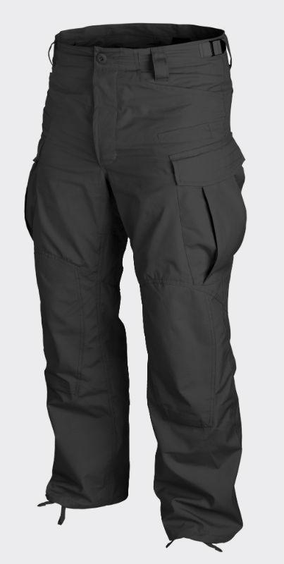 HELIKON-TEX SFU Trousers PolyCotton Ripstop Schwarz Black Hose Pants SFU-PR-01.