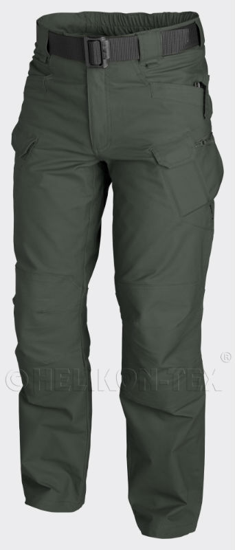 HELIKON-TEX Helikon UTP UTL-CO-27 URBAN TACTICAL PANTS Canvas Jungle Green Hose.