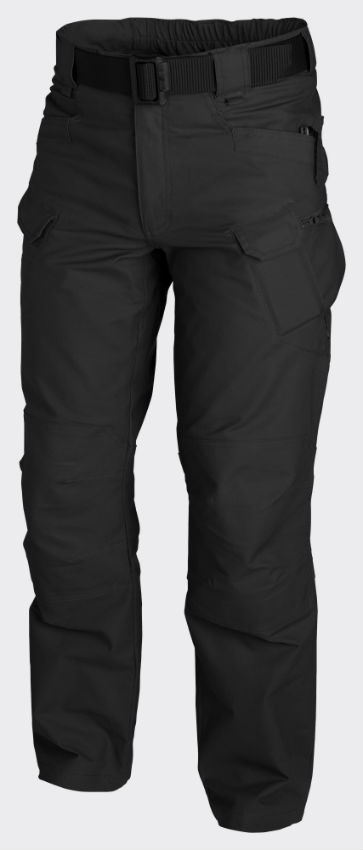 Helikon URBAN TACTICAL PANTS Hose PolyCotton Ripstop Black SP-UTL-PR-01.