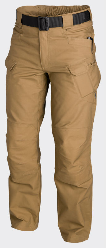HELIKON URBAN TACTICAL PANTS PolyCotton Ripstop Coyote Hose Pants SP-UTL-PR-11.