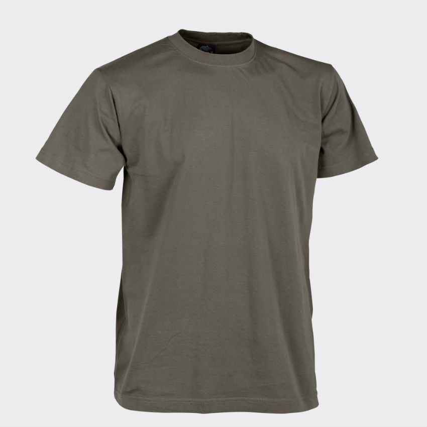Helikon T-Shirt Cotton Olive Green OLIV GRÜN Shirt BW Bundeswehr TS-TSH-CO-02.
