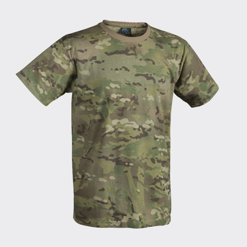 Helikon T-Shirt Cotton Camogrom Shirt Army BW TS-TSH-CO-14.