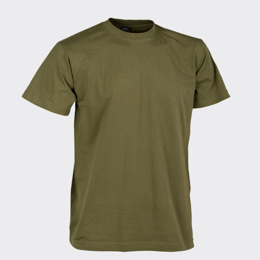 Helikon T-Shirt Cotton U.S. Green Grün BW Bundeswehr Shirt TS-TSH-CO-29.