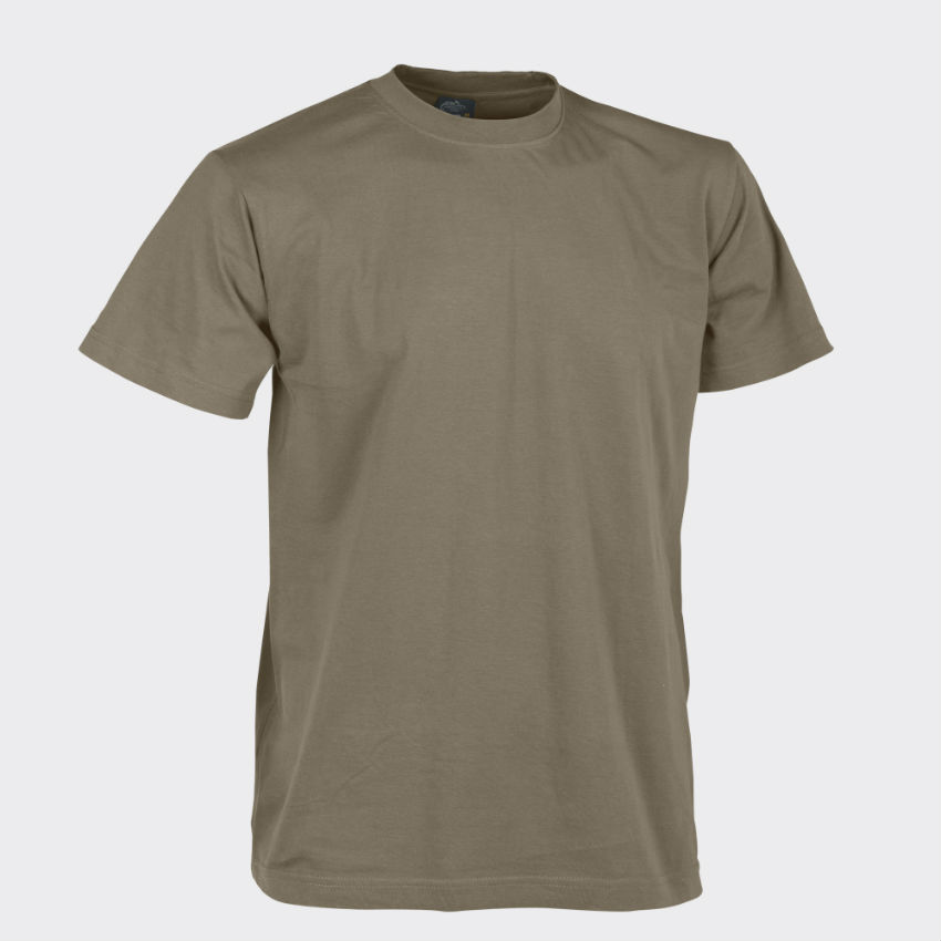 Helikon T-Shirt Cotton U.S. Brown Braun Shirt BW TS-TSH-CO-30.