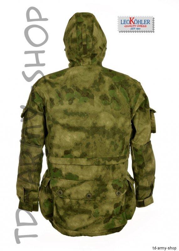 LEO KÖHLER Einsatzkampfjacke A-TACS FG Bundeswehrjacke KSK BW Jacket nach TL.