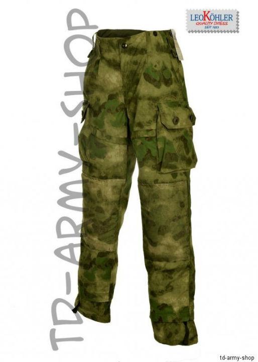 LEO KÖHLER Einsatzkampfhose A-TACS FG Bundeswehrhose KSK BW nach TL Combat Pants