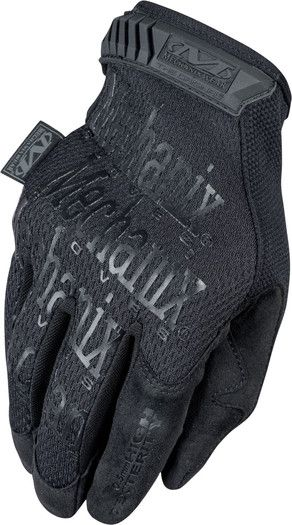 Handschuhe Mechanix Original 0.5 Covert Schwarz Gloves Black Army BW.
