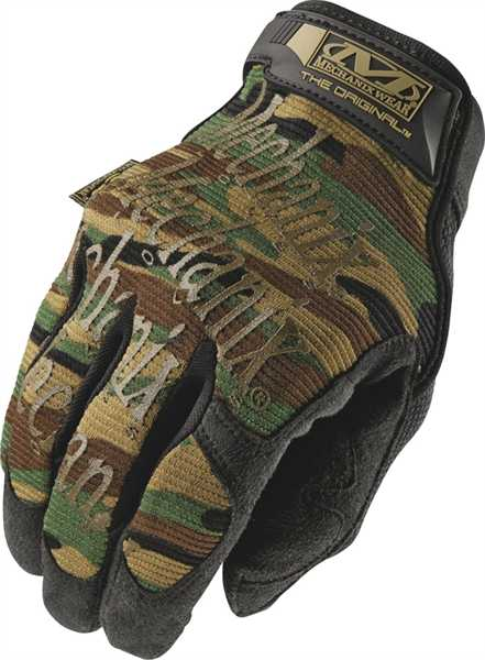 Mechanix Original Handschuhe Gloves Woodland Tactical Taktische WOODLAND.