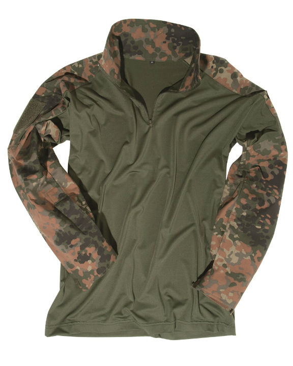 FELDHEMD TACTICAL FLECKTARN BW Bundeswehr Hemd.