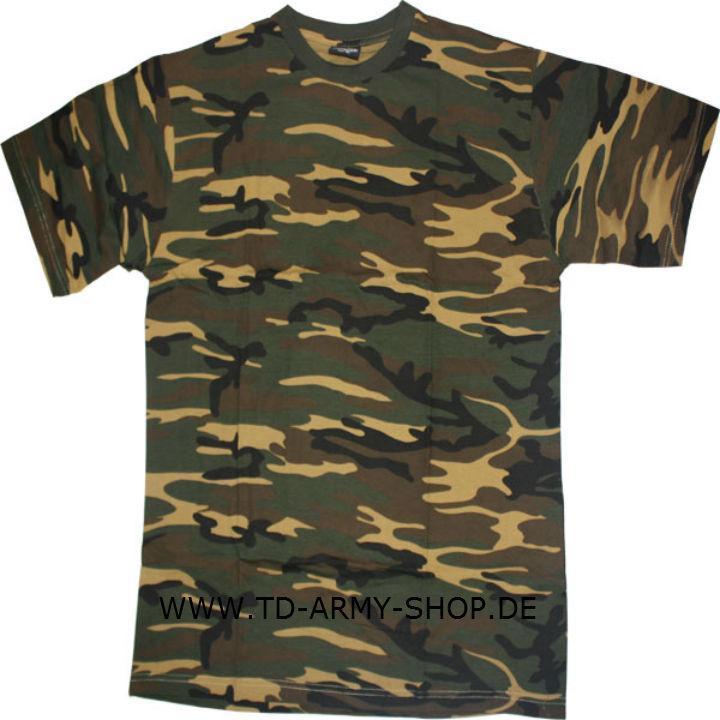 Woodland T-SHIRT TARN WOODLAND US ARMY Shirt.