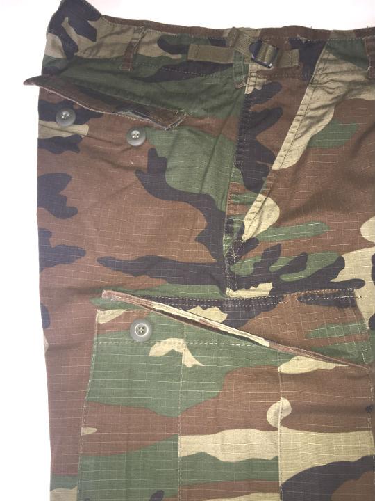US BERMUDA Ripstop COTTON PREWASH WOODLAND Hose kurz Combat Ranger 11402020.