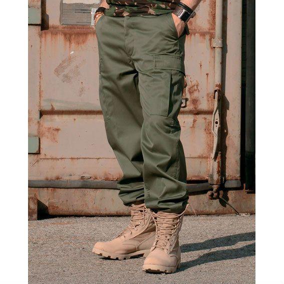 US RANGER HOSE TYP BDU OLIV GRÜN Pants Arbeitshose Feldhose Trousers.