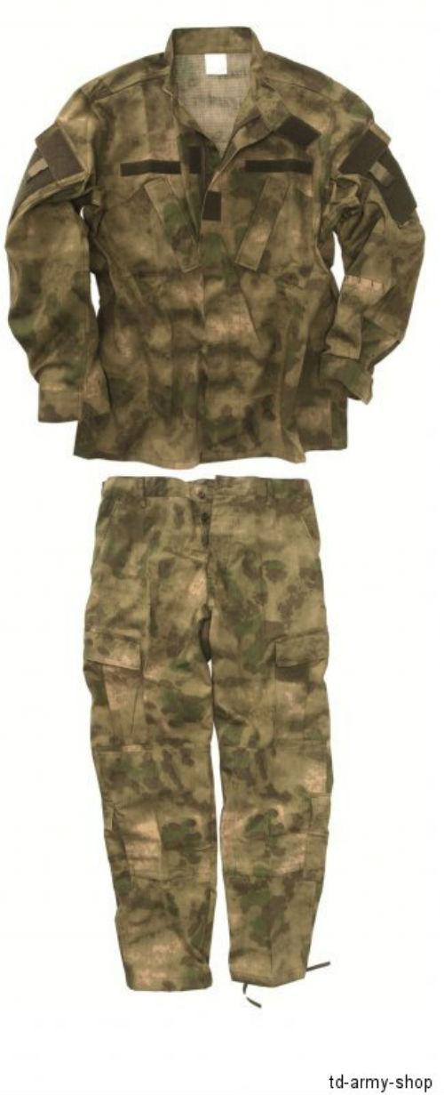Uniform Anzug Set JACKE und HOSE A-TACS FG.