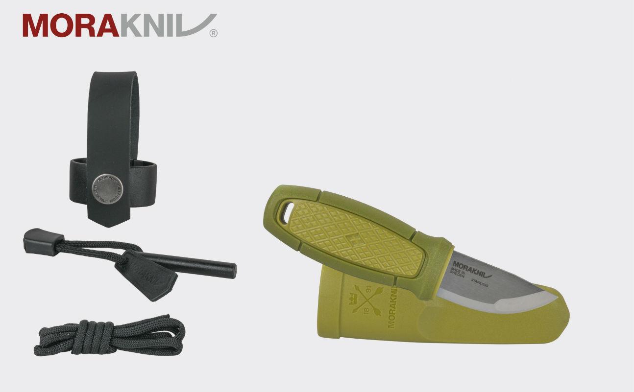 Morakniv Eldris Neck Knife mit Feuerstarter Outdoormesser NZ-ELN-SS-02(ID 12633)