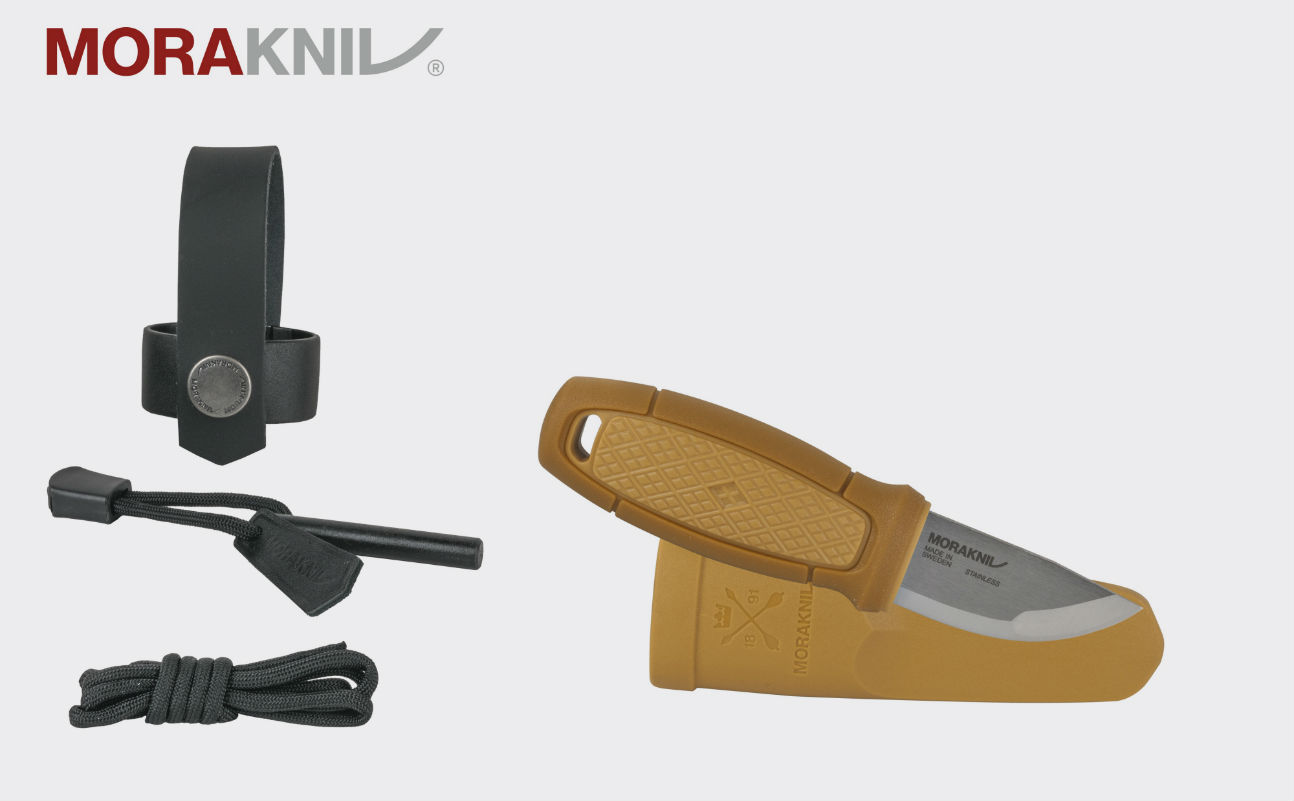Morakniv Eldris Neck Knife mit Feuerstarter Outdoormesser NZ-ELN-SS-26(ID 12632)