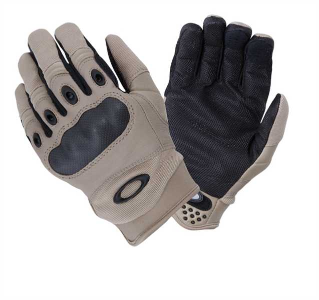 Oakley Factory PILOT SF Special Forces Protection Grip Glove Handschuhe Khaki.