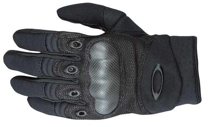 Original Oakley Factory PILOT SF Protection Glove SI Handschuhe Black Schwarz.